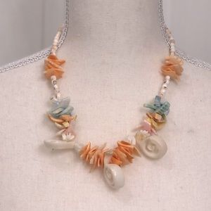 🔥Pastel Shell/Bead Necklace